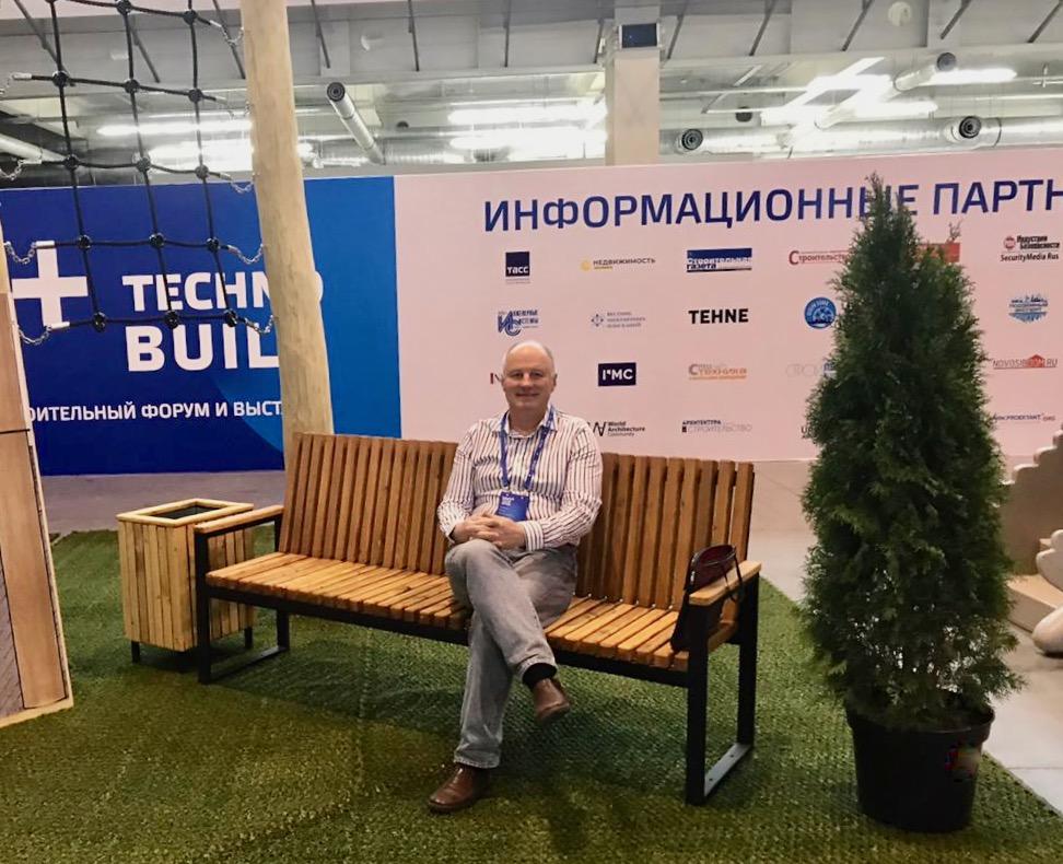 Адвокат поучаствовал в выставке ЭКСПО Екатеринбург 100+ TechnoBuild 2020
