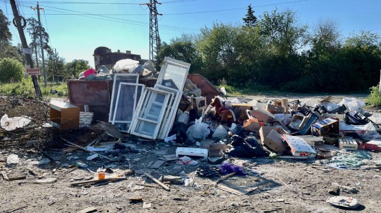 Позор мусорным реформаторам в Екатеринбурге.